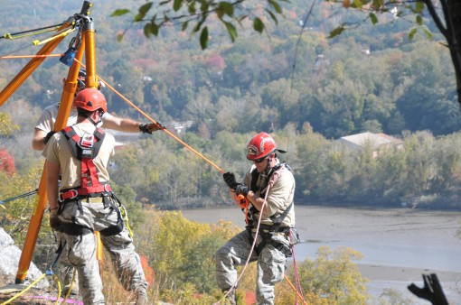 Search and Rescue at Camp Smith