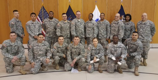 Soldiers Finish Instructor Class