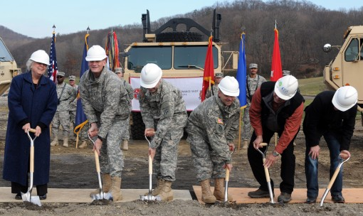 Groundbreaking for new facility at Camp Smith