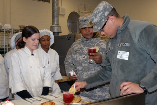 Students meet MRE cooking challenge