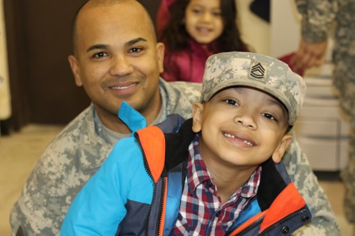 Send off for 442nd Military Police Co.