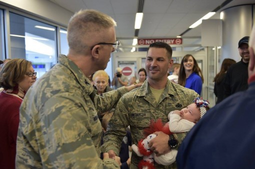 Airmen back in Western NY after Kuwait Deployment