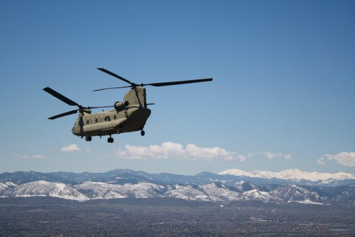 Army Guard Aviators train in Colorado