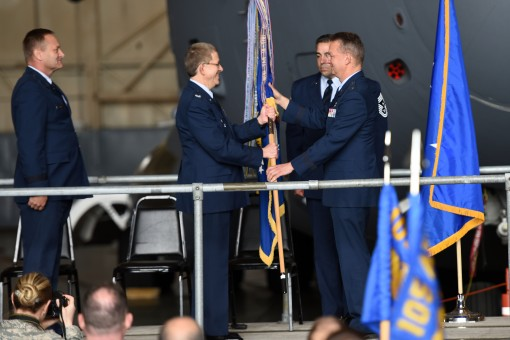 New Commander for 105th Airlift Wing