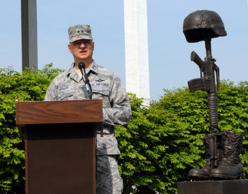 Memorial Day Ceremony Held at DMNA