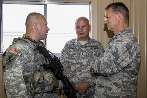 Adjutant General Visits Fort Polk