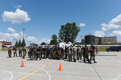 Cadets see remotely piloted aircraft at Stratton