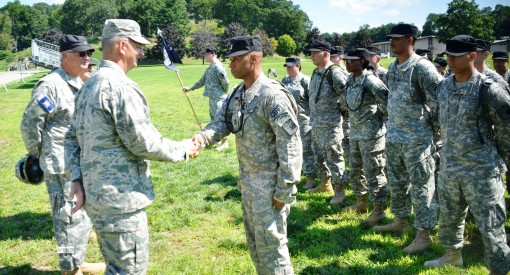 Adjutant General Visits New York Guard Training