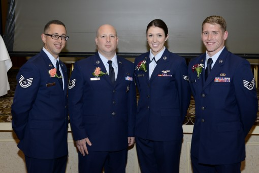 105th Airlift Wing members honored