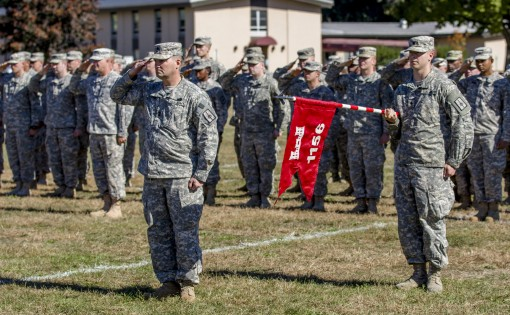 Engineer Soldiers Deploy to Texas