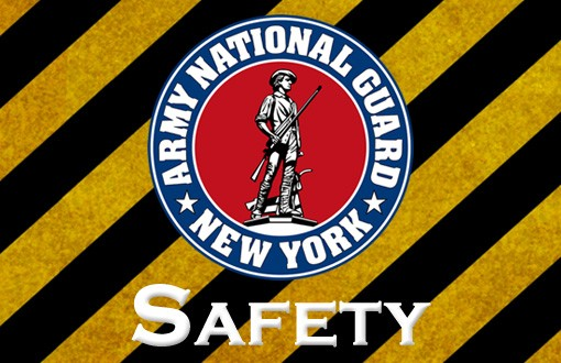 New York National Guard Safety Message Logo