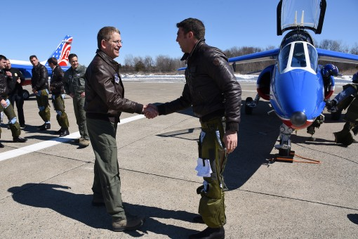105th Air Wing welcomes French flyers