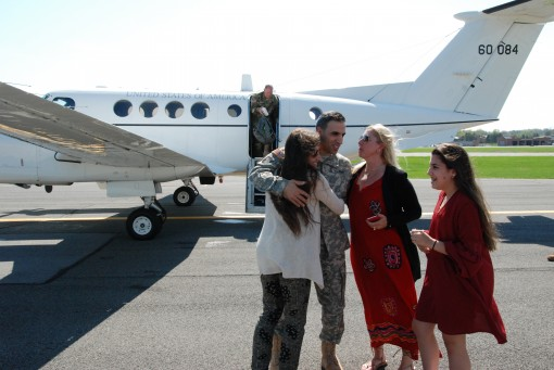 U.S. Army Chief Warrant Officer 5 Tom Dinoto completes his final flight as an Army Aviator serving with the New York Army National Guard May 5 2017 in Latham N.Y. Dinoto from Ballston Lake N.Y. completes a military career in Army Aviation spanning 22 year