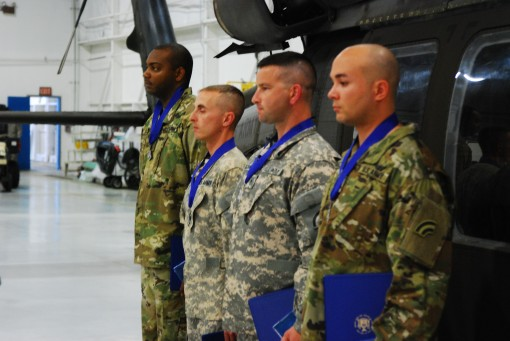 Soldiers honored for heroism