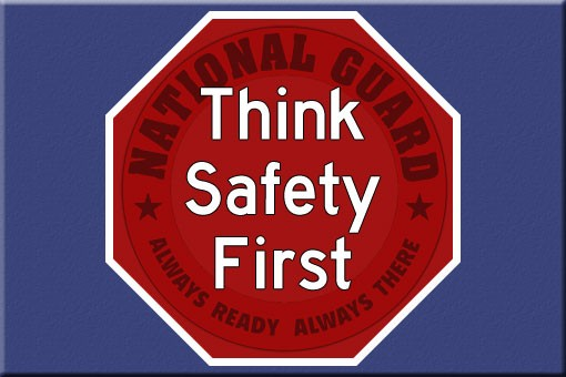 Think Safety First logo