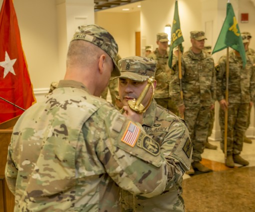 New Sgt. Major for 153rd Troop Command