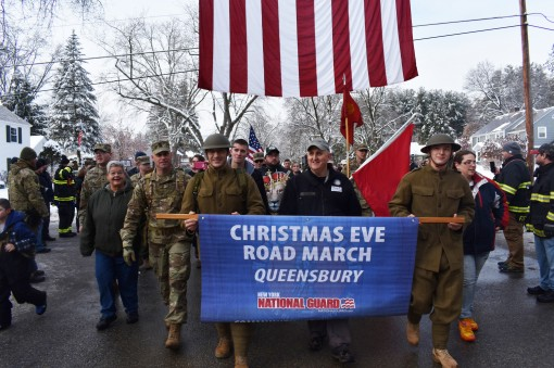 Christmas Eve Roadmarch remembers WWI service