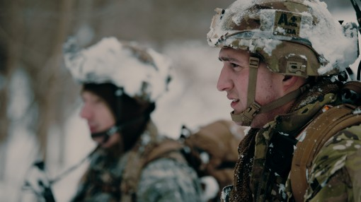 Cav Soldiers conduct snowy exercise