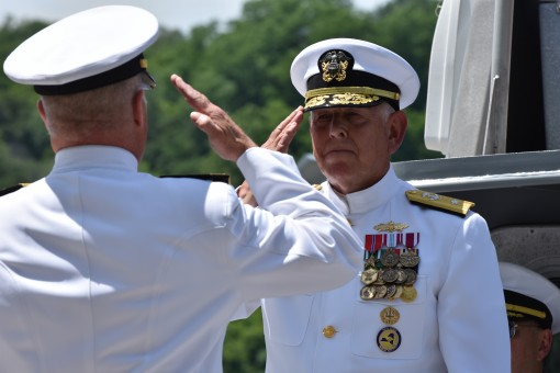 Naval Militia Gets New Commander