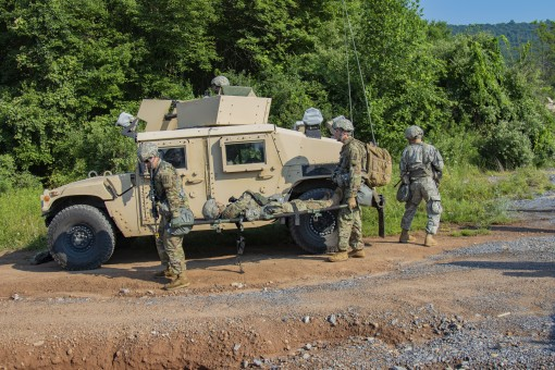 MPs Conduct Convoy Training