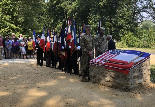 42nd Division Soldiers Honor Douglas McArthur