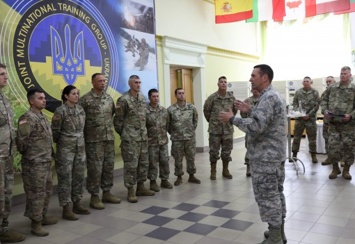 National Guard Chief visits 27th brigade troops