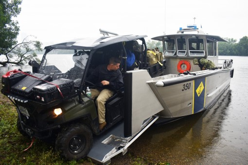 Naval Militia trains with Civil Support Team