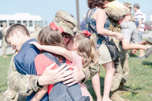 27th Brigade Troops Return Home from Ukraine