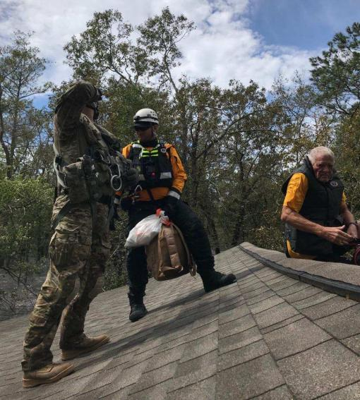 NY Army Guard aids in N.C. Rescues