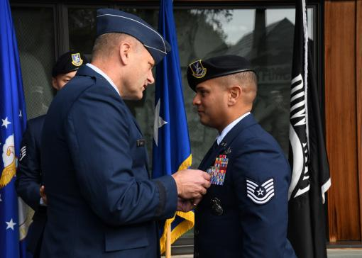105th Airman Recognized