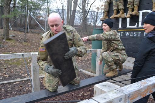 642nd leaders train at West Point reaction course
