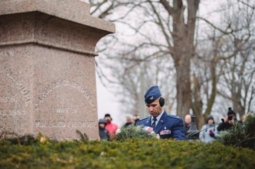 107th Attack Wing Honors President Fillmore