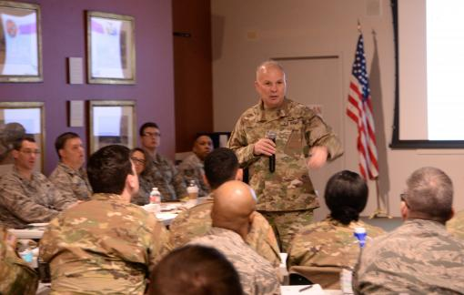 Adjutant General speaks to Public Affairs group