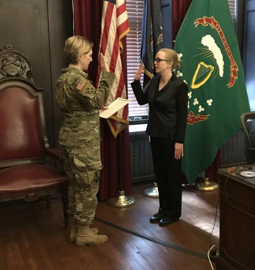 Lawyer joins 42nd Infantry Legal Team