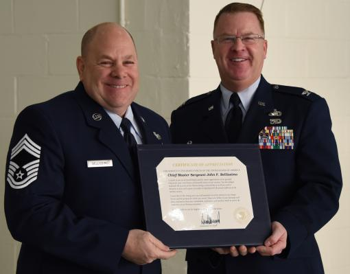 106th Rescue Wing Airman retires after 34 years