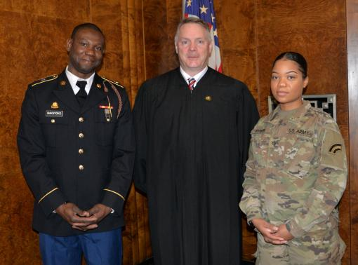 NY National Guard Soldiers become citizens