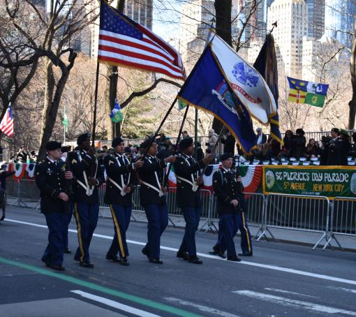 69th Infantry leads St. Patrick's Day Parade