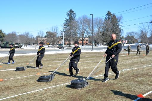 3-142nd Takes Army Combat Fitness Test