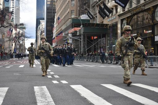 69th Infantry Marks St. Patrick's Day in New York