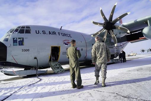 109th Airlift Wing supports NORAD Commander