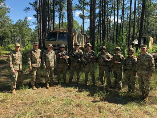 MPs train at Fort Polk