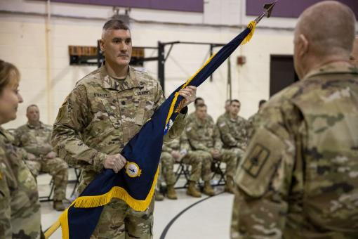 New Commander for 1st BN 106th Regiment