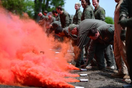 105th Airmen conduct survival training