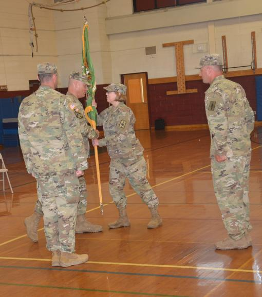 New Commander for 102nd MP Battalion