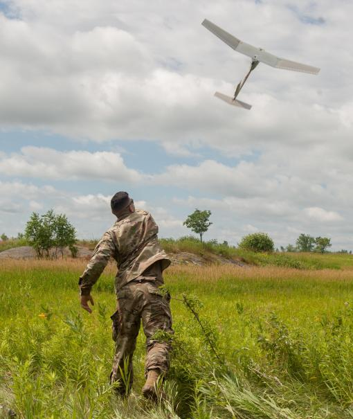 Soldiers train with tiny aircraft at Fort Drum