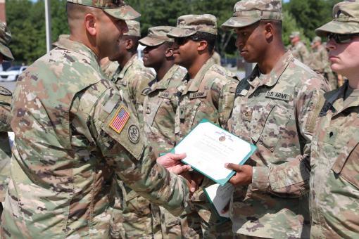 Soldiers Recognized at Fort Drum