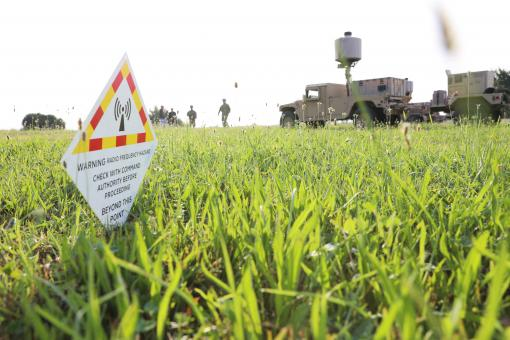 Soldiers with the 27th Infantry Brigade Combat Team field the new AN/TPQ-50 Lightweight Counter Mortar Radar (LCMR) on July 31, 2019, at Fort Drum, New York. The radar section for the 27th Infantry Brigade Combat Team took a course on the new radar system