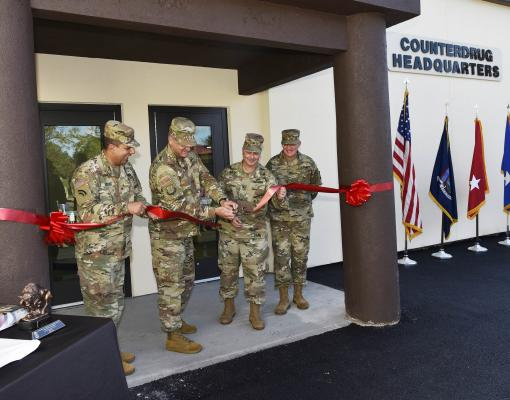 Counterdrug headquarters reopened