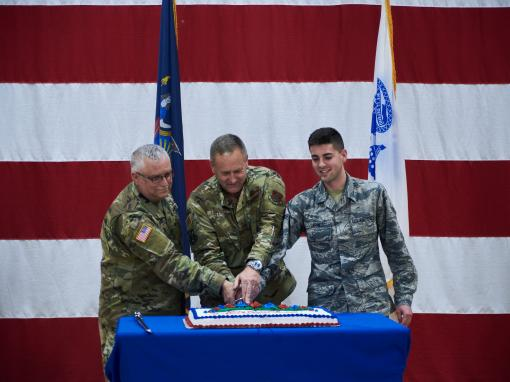 National Guards 383rd Birthday Marked