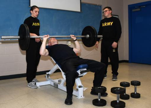 Soldiers training up for Army Combat Fitness Test